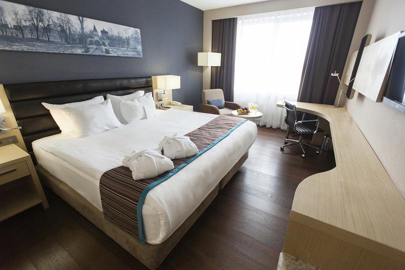 Комфортный superior с большой двухместной кроватью в гостинице Park Inn By Radisson Izmailovo Moscow
