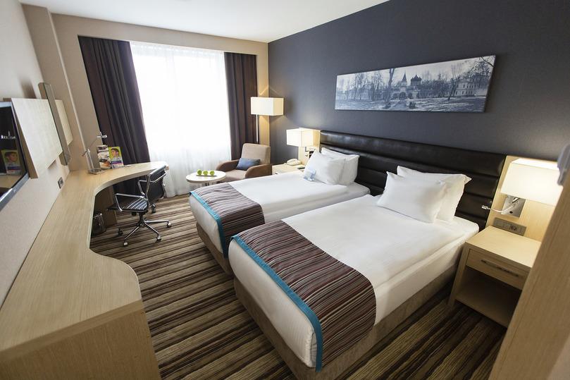 Стандарт двухместный с двумя раздельными кроватями в гостинице Park Inn By Radisson Izmailovo Moscow